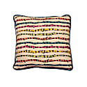 Color Stripes Linen Cushion image