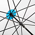 British City Slim Umbrella Grey & Blue image