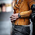 Earhart Silver Grey - Tan Leather image