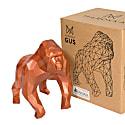 Gorilla Geometric Sculpture - Gus In Metallic Black image