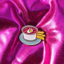 Enamel Pin Pink Cold Soup image