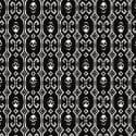 Ikat Skull Noir image