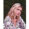 Silk Headband - Botanical Tartan image