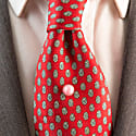 Gemstone Tie Or Lapel Pin - Cairn Rhodochrosite image