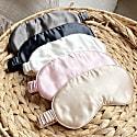 Silk Sleep Mask - Black image