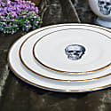 Skull Bone China Dessert Plate image