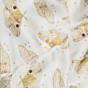 Ivory Moth Silk Scarf image