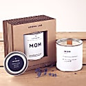 Scented candle with lavender - Gift for MOM image