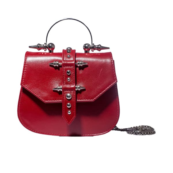 OKHTEIN Mini Studded Red