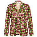 Femi 1 Button Blazer- Rhubarb image