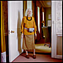 Wrap Skirt In Mustard Plaid Soft Touch 100% Wool From Savile Row image