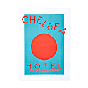 Chelsea Hotel Mind Charity Retro Art Print image