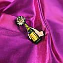 Enamel Pin Champagne Pop image