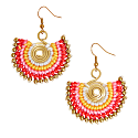 Statement Earrings In Red image