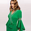 Dress With Ribbon & Lace image