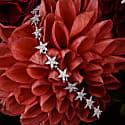 Star Strand Tennis Bracelet Silver image