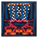 Multicolour Medium Square Scarf image