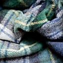 Recycled Wool Blanket In Gordon Dress Tartan image