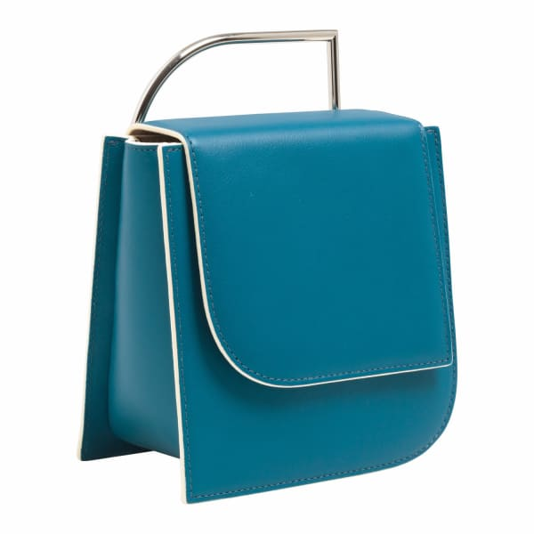 Pascal Leather Bag Ocean