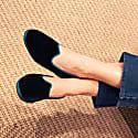 Black & Turquoise Velvet Friulane image