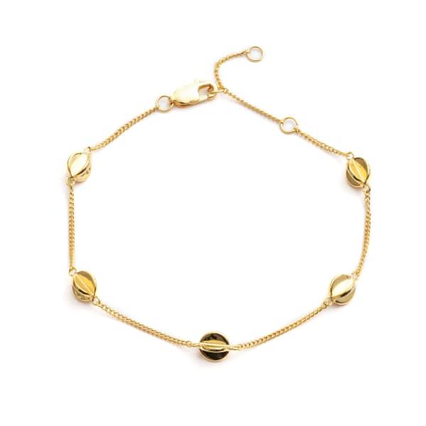 RACHEL JACKSON LONDON Multi Orb Bracelet In Gold