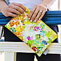 Bloom Faux Leather Pouch image