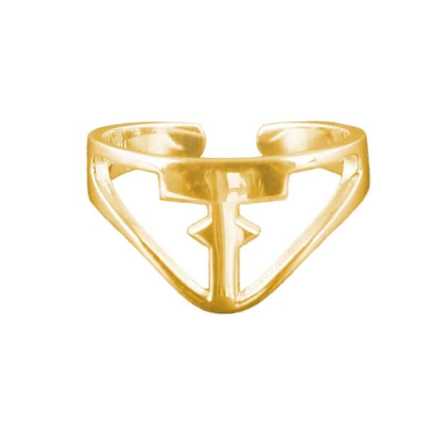 TISSUVILLE All about the T ring Gold