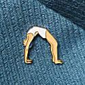 Enamel Pin Bridge Pose image