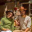 Rancher Black - Festival Style Fine Wool Hat image