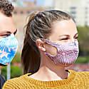 2 Pack Washable Face Mask - Black & Pink image
