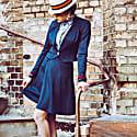 Wrap Skirt No. 904 blue image