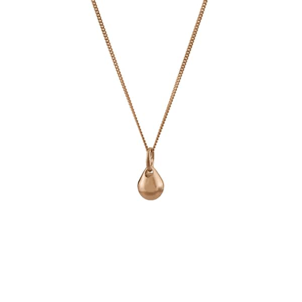 EDGE ONLY Teardrop Pendant in 14ct Gold