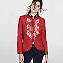 Red Classic Cut Blazer Kate image