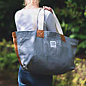 Heritage Grey Canvas and Leather Bag image