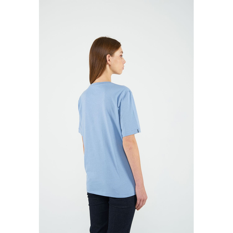 b851bf6e Soft Organic Cotton Crewneck Tshirt Baby Blue   Reflect Studio ...