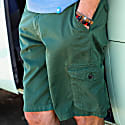 Crab Cargo Shorts in Green image