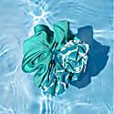 Pool Print Silk Scrunchie image