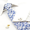 Mother of Pearl and Gold Cufflinks image
