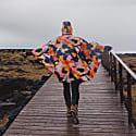 Rain Poncho In Multi-coloured '111-111' Print image