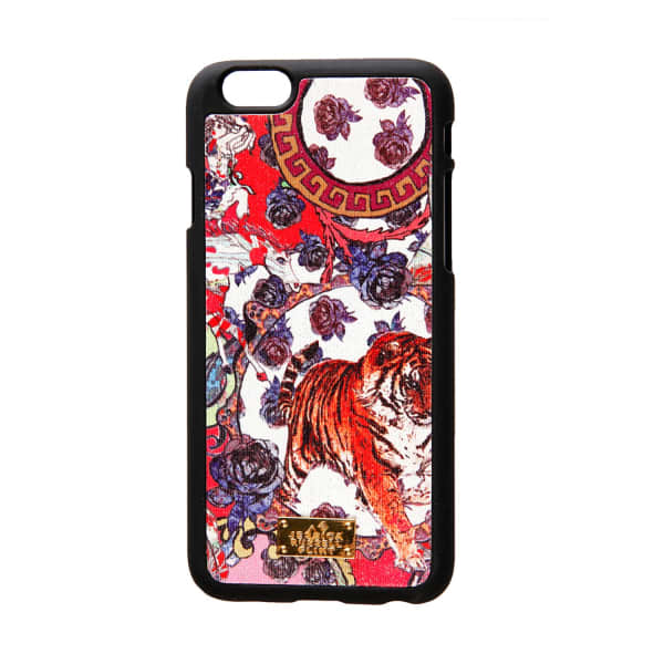 JESSICA RUSSELL FLINT Leather Coated Iphone 6 Case Crazy Circus
