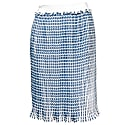 Pleated Turquoise Skirt image