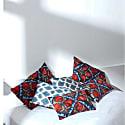 Artemis Amour Ikat Double Sided Heritage Design Cushion image