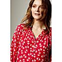 Hartford Dress Red Large Hiawatha Print image