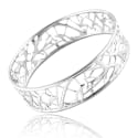 Lattice Bangle Silver image
