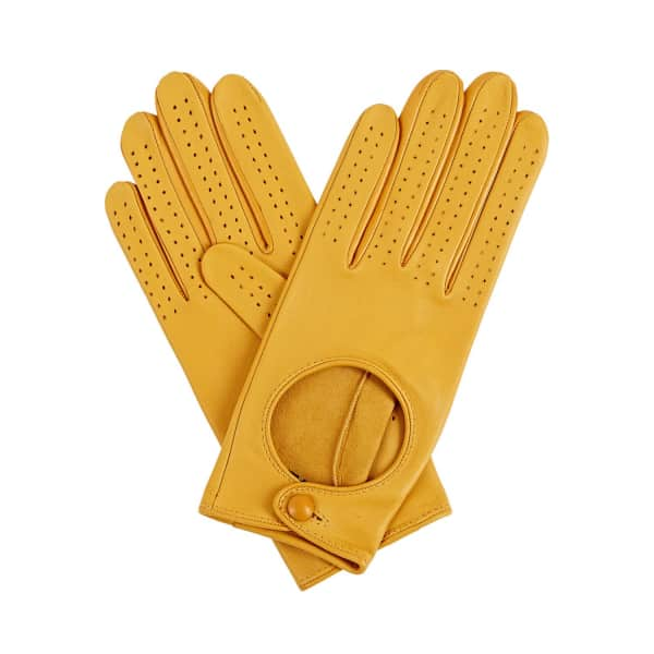 GIZELLE RENEE Apple Yellow Bega Driving Glove