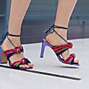 Cape Bay - Purple Block Heels Sandals image