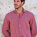 Ipanema Linen Shirt in Coral image
