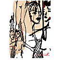 Confrontation Limited Edition A2 Giclée Print Signed & Numbered image
