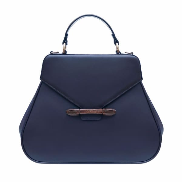 AEVHA LONDON Carnelia Tote In Navy