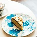 Side Plate - Sky Blue   Speckle image